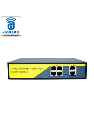 PoE Switch 6 Channel