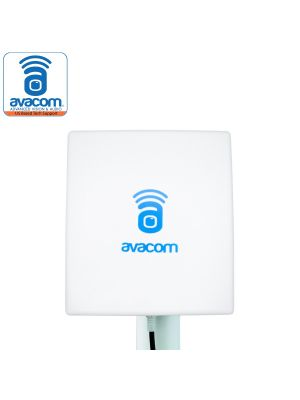 Long Range WiFi Extender Panel Antenna 14dBi RP-SMA Male Connector With Adapter